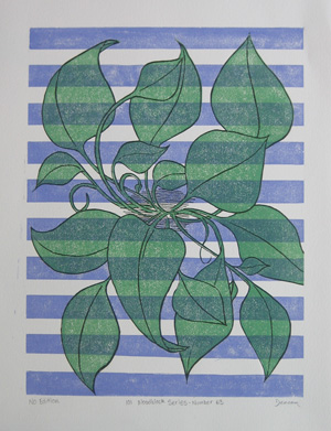 101 Woodblock Series - Number 63