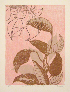101 Woodblock Series - Number 77