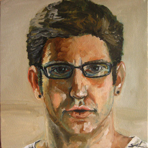 Self Portrait II oil painting by Sean Neprud
